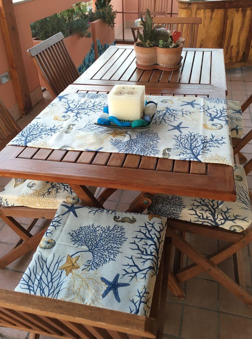 Cuscino copri sedia marina - Cuscino copri sedia marina