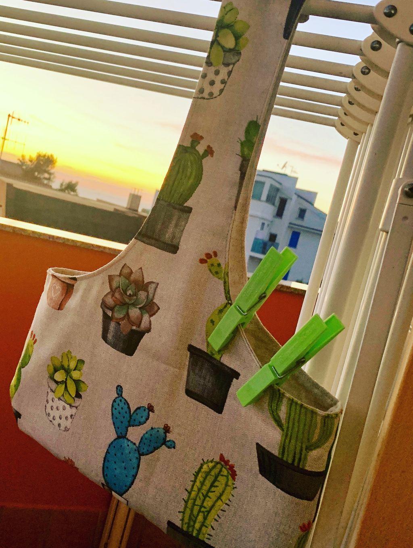 Porta mollette cactus - Porta mollette cactus