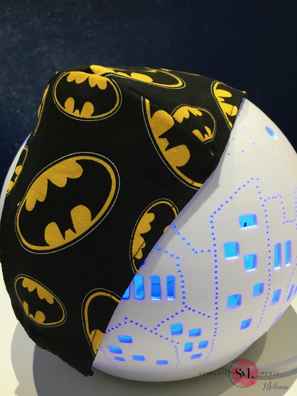 mascherina lavabile cotone batman